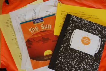 Spectacular Sun Science Literacy Bag (3-5)