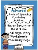 Adverbs Parts of Speech Activities