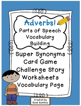 Adverbs Parts of Speech Activities