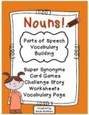 Nouns Parts of Speech Activities