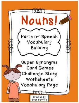 Nouns Vocabulary Game and Activities
