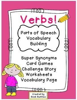Verbs Parts of Speech Activities