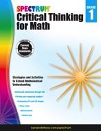Spectrum Critical Thinking for Math, Grade 1