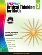 Spectrum Critical Thinking for Math, Grade 3