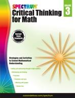 Spectrum Critical Thinking for Math, Grade 3