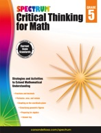 Spectrum Critical Thinking for Math, Grade 5