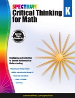 Spectrum Critical Thinking for Math, Grade K