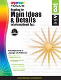 Spectrum Focus - Reading for Main Ideas and Details, Grade 3 | 9781483826424