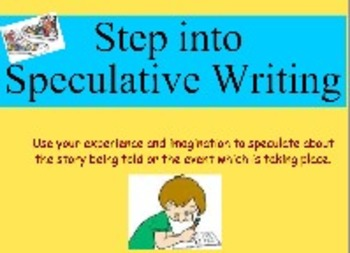 Speculative Story Writing: State-Mandated Writing