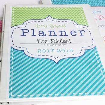 Special Education Teacher Planner 2018-2019