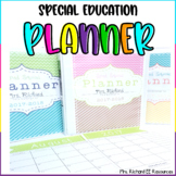 Special Education Teacher Planner 2020-2021