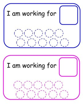 Work Completion Visual- SPED/RTI