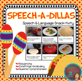 AAC, Core Vocabulary, WH Questions, Snacktivity: Quesadillas