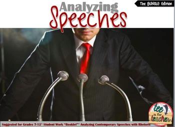 Speech Activities (BUNDLE)