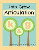 Speech Activities for Articulation: /k/ and /g/