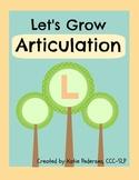 Speech Activities for Articulation: /l/