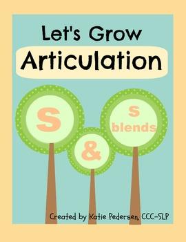 Speech Activities for Articulation: /s/ and /s/ blends