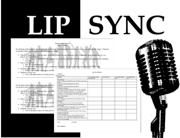 Speech Activity:  Lip Sync Battle!