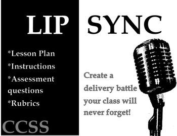 Speech Activity:  Lip Sync Battle!