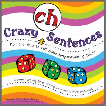 "Speech Artic Activity: ""Crazy 'ch' Sentences"
