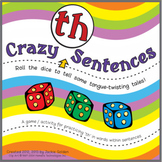 "Speech Artic Activity: ""Crazy 'th' Sentences"
