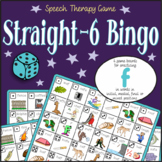 Speech Artic - /f/ sound: Connect-6 Bingo Game