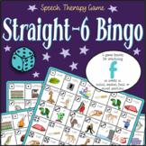 Speech Artic - /f/ sound: Straight-6 Bingo Game