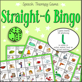 Speech Artic - /l/ sound: Connect-6 Bingo Game