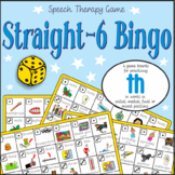 Speech Artic - 'th' sound: Connect-6 Bingo Game