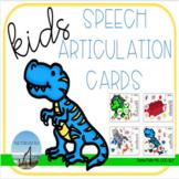 Speech Articulation Cards for Kids - Set 1 - NO PRINT or PRINT