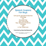 Speech Articulation Carryover Boy Coupons