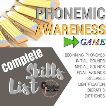 Phonemic Awareness and Articulation Game