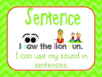 "Speech Articulation ""I Can"" Statements"