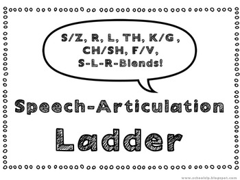 Speech-Articulation Ladder