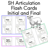 SH Initial and Final   50  Reading Center cards