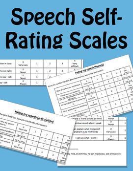 Speech Attitude Self-Rating Scale