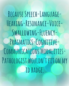 Speech Badge