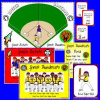 Speech Baseball Game