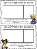 Speech Behavior Tracker