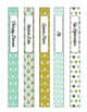 Retro Speech Binder Covers and Schedule