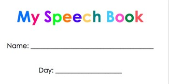 Speech Book Labels