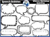 Speech Bubble Clip Art - Whimsy Workshop Teaching