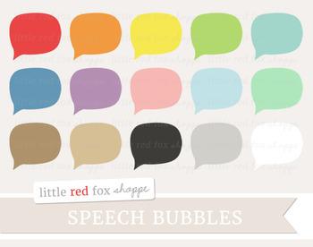 Speech Bubble Clipart