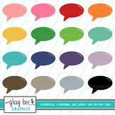 Speech Bubble Clipart Pack