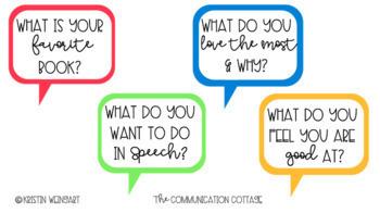 Speech Bubble Conversation Starters