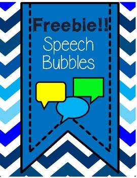 Speech Bubble Freebie