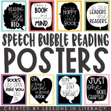 Speech Bubble Reading Quotes