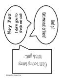 Speech Bubble Shelf Talkers