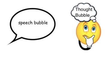 Speech Bubble or Thought Bubble
