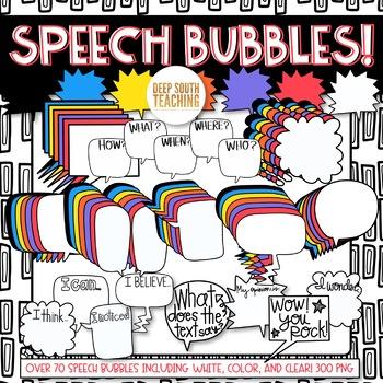 Speech Bubbles!